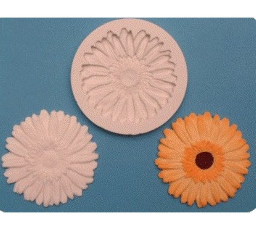 Floral themed cake decorating silicone moulds for fondant and gumpaste