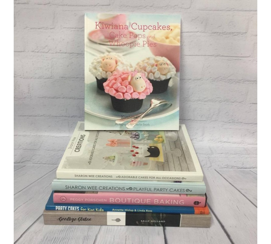 Books and magazines for cake decorating enthusiasts