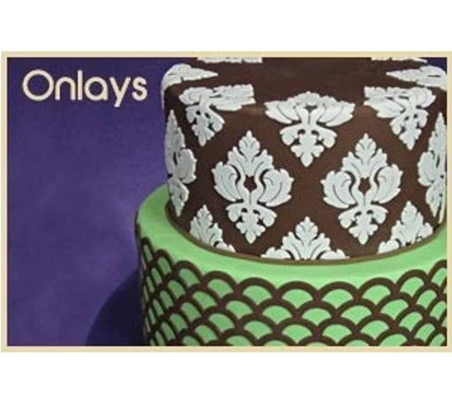 Marvelous Molds silicone onlays for cake decorating