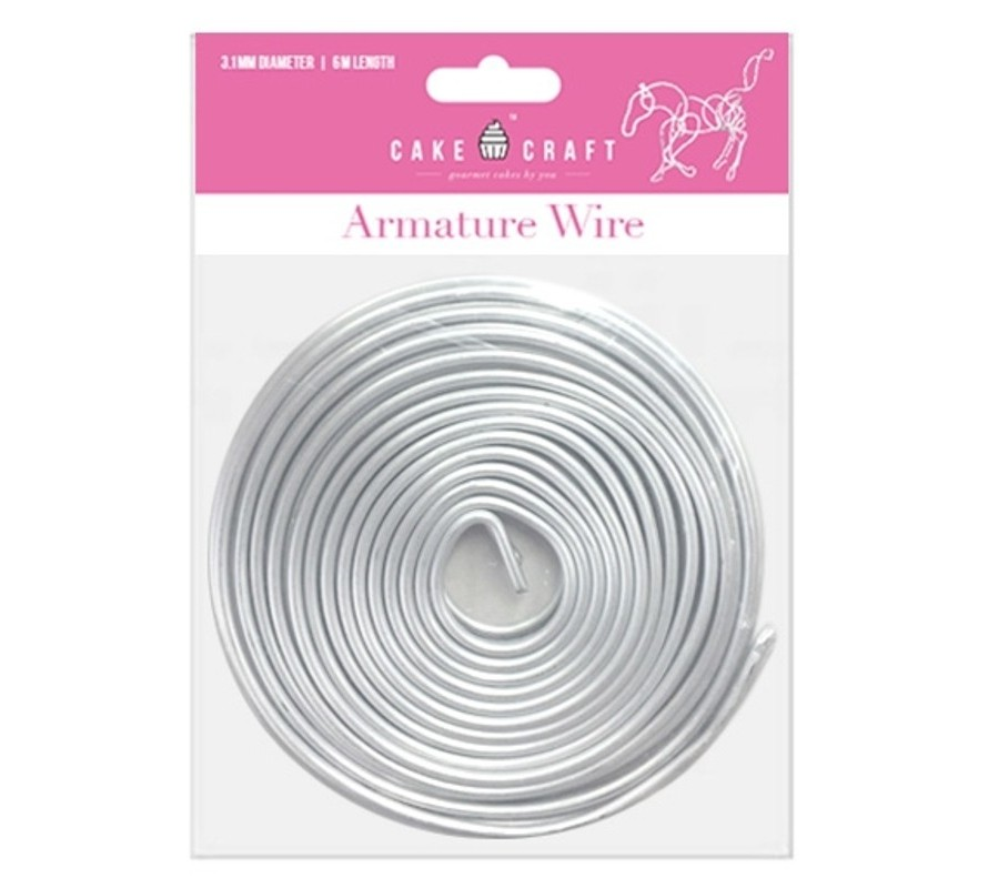 Armature wire structure for cakes