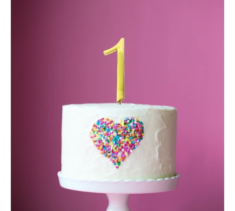 Number & numeral  cake toppers for your birthday cake.