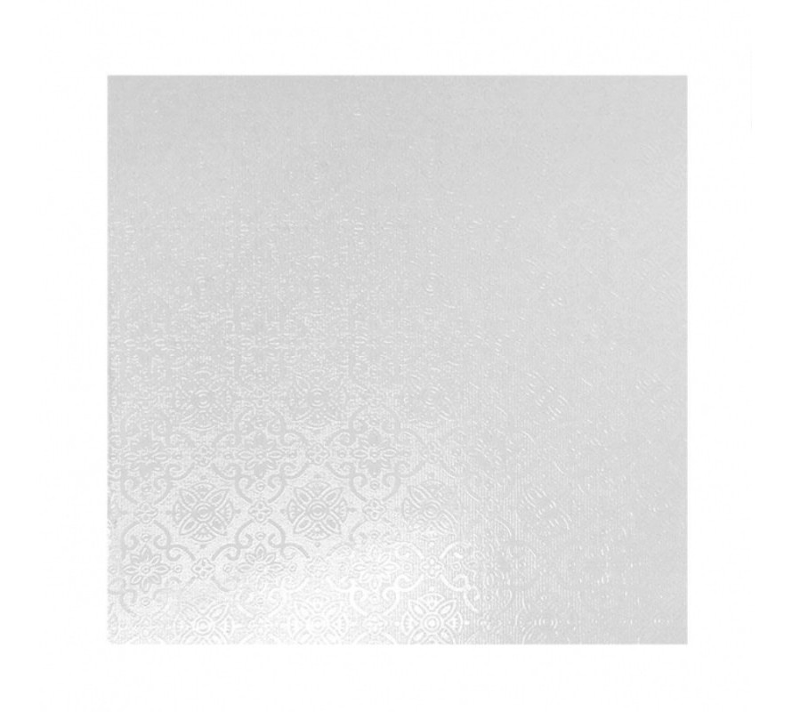 Cake boards Square White Masonite