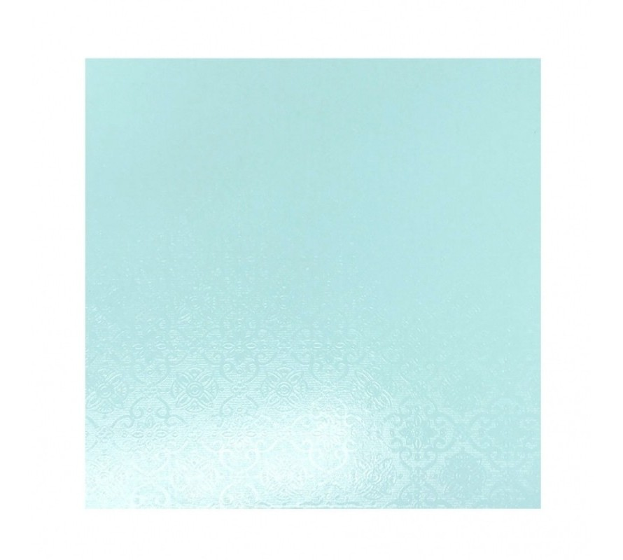 Blue coloured square cake boards Tough Masonite great for heavy cakes