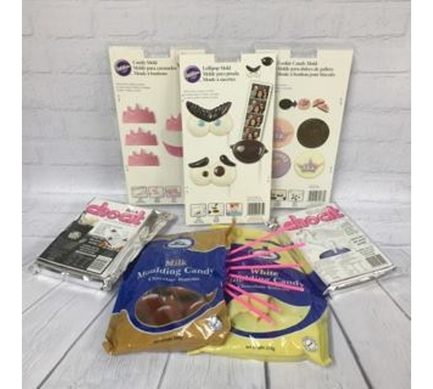 Chocolate making supplies. Tools, moulds, melts, foil & equpiment