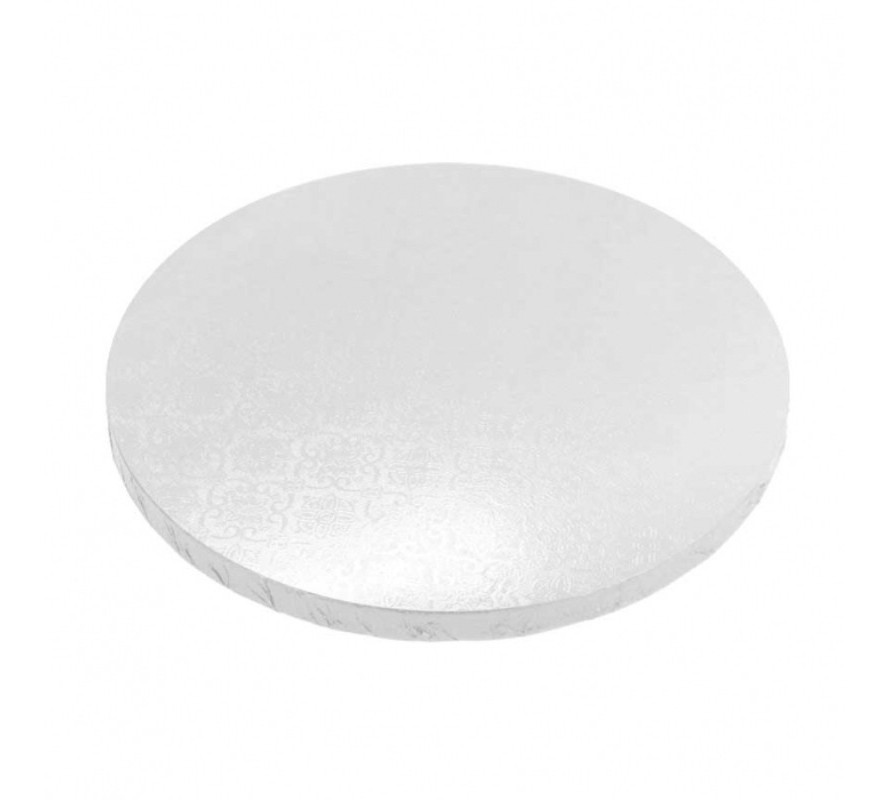 Cake boards Round White Thick MDF