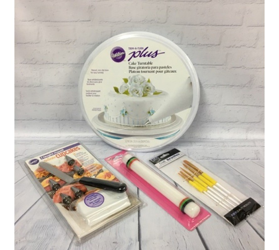 Tools & equipment the beginner cake decorator needs to get started