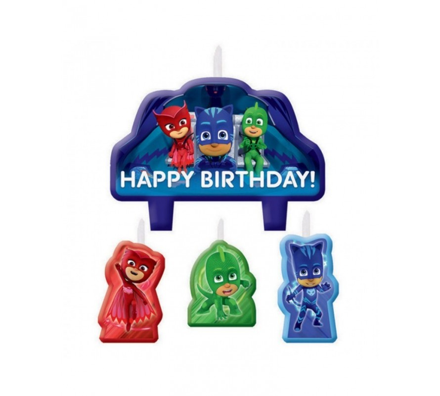 PJ Masks cake decorating kits & candles