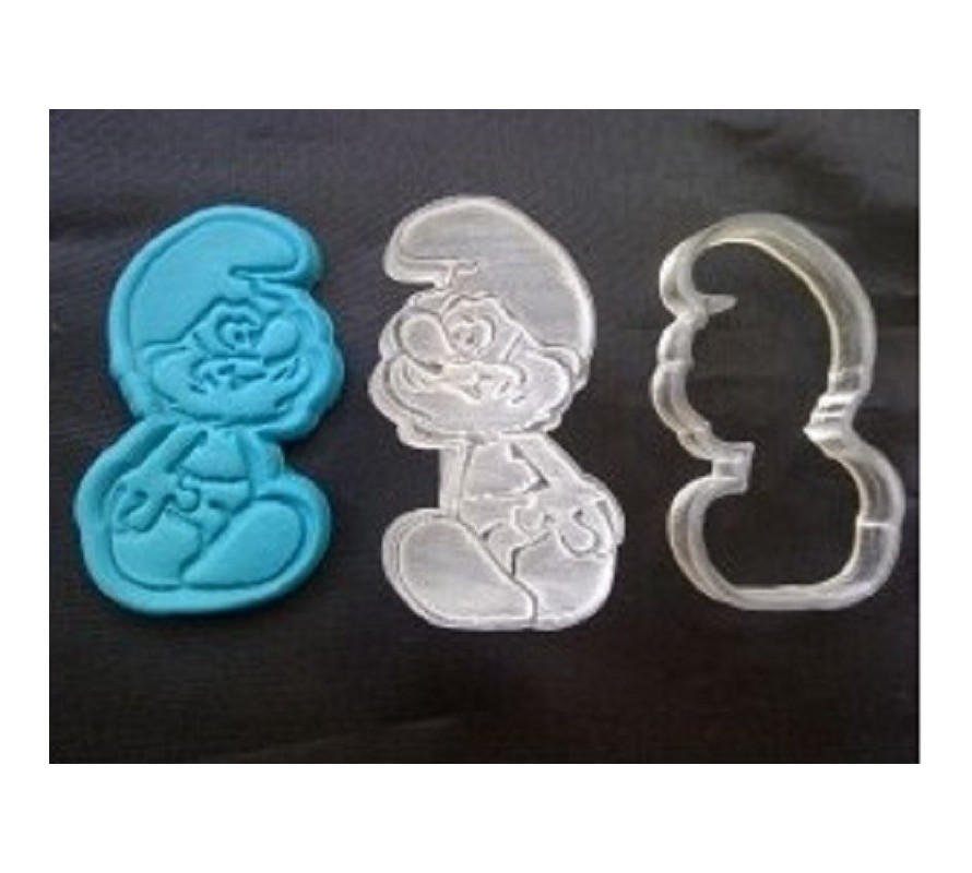 Smurfs edible icing images for cakes & cupcakes. Gluten Free