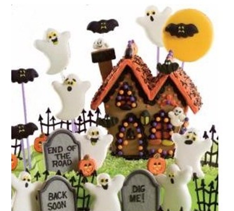 Halloween decorating supplies cake, cupcake, chocolate & cookie makers