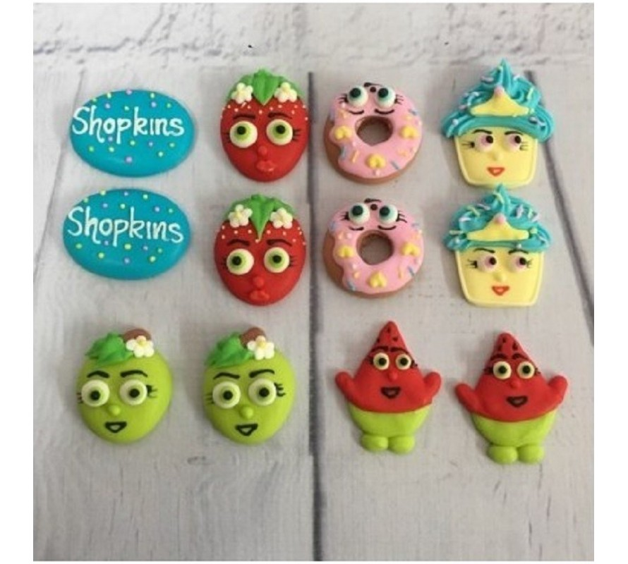 Shopkins edible cake decorations