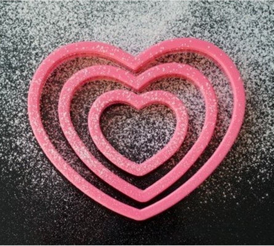 Valentines Day cookie, cupcake, chocolate & cake decorating supplies