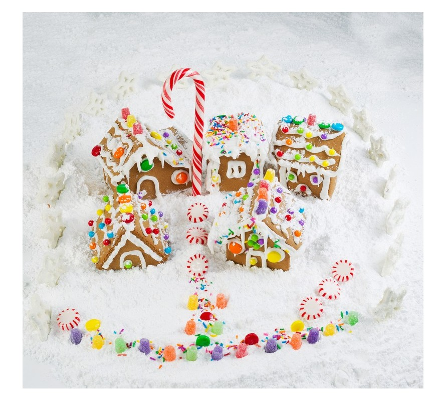 Create fun memories to last a lifetime creating gingerbread house