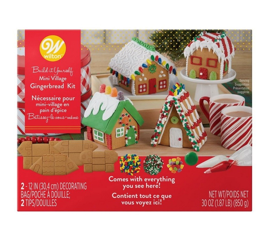 Gingerbread House kits & decorations