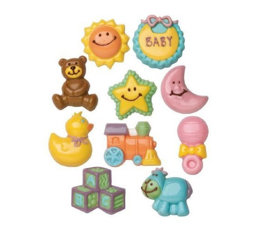 Sweet baby themed chocolate moulds for your baby shower or a new Mum