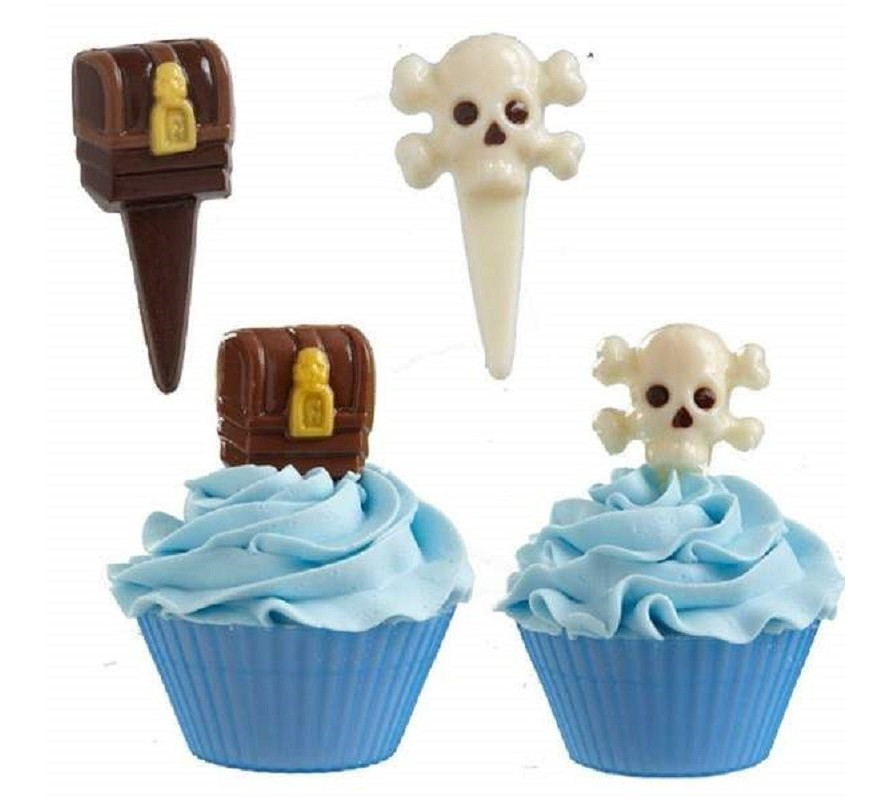Pirate themed chocolate moulds make your own chocolates easily at home