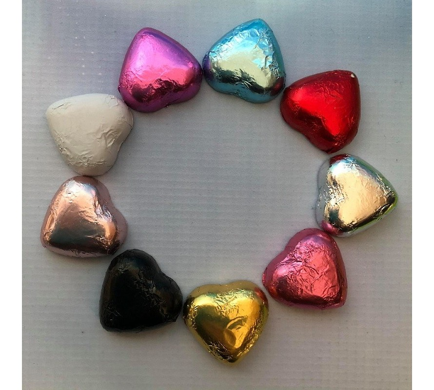 Chocolates & Foil covered hearts