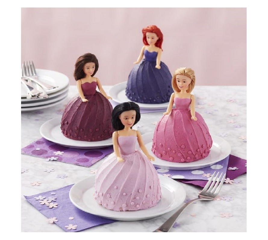 Doll Cake Pick Toppers