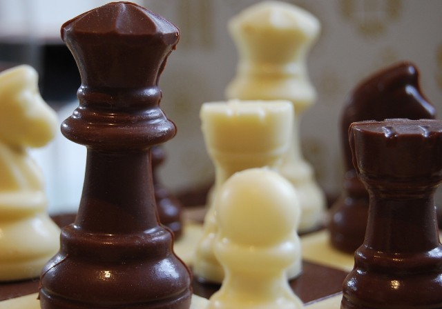 3d Chess Set Chocolate Mould